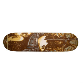 the collectress skate board