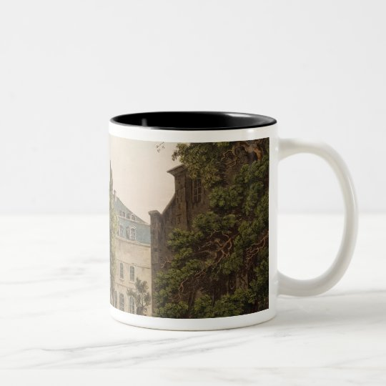 The College de Navarre in Paris Two-Tone Coffee Mug