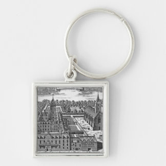 The College of Glasgow, from 'Theatrum Keychain