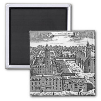 The College of Glasgow, from 'Theatrum Magnets