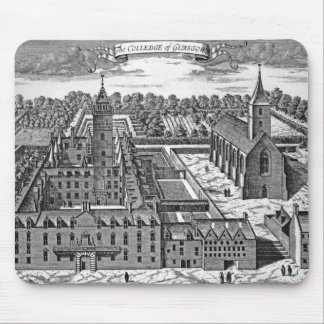 The College of Glasgow, from 'Theatrum Mouse Pad