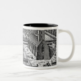 The College of Glasgow, from 'Theatrum Mug