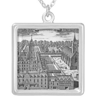 The College of Glasgow, from 'Theatrum Necklaces