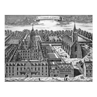 The College of Glasgow, from 'Theatrum Postcard