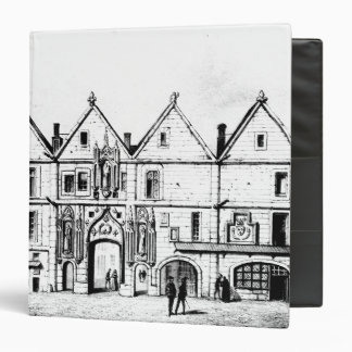 The College of Navarre in 1440 3 Ring Binder