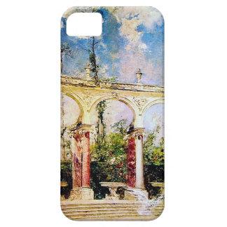 The Collonade in Versailles by Giovanni Boldini iPhone SE/5/5s Case