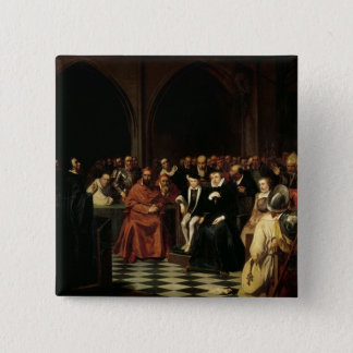 The Colloquy of Poissy in 1561, 1840 Button