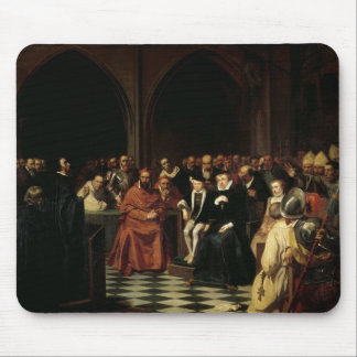 The Colloquy of Poissy in 1561, 1840 Mouse Pad