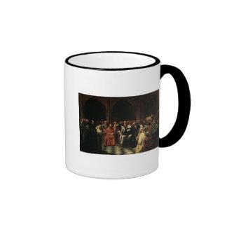 The Colloquy of Poissy in 1561, 1840 Ringer Mug