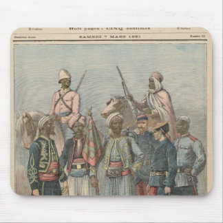 The Colonial Army Mousepad