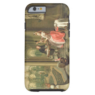 The Colonnade of a Country House with a Lady seate iPhone 6 Case