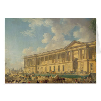 The Colonnade of the Louvre. c.1770 Card