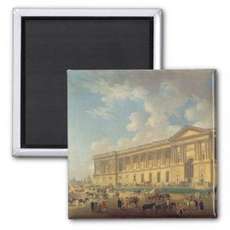 The Colonnade of the Louvre. c.1770 Magnet