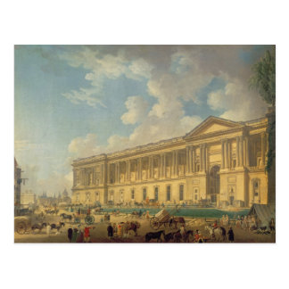The Colonnade of the Louvre. c.1770 Postcard