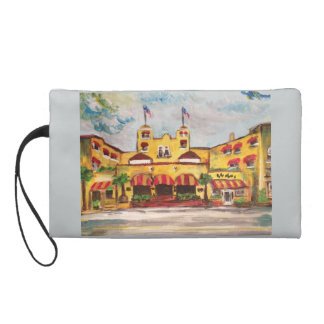 The Colony in Del Ray Painting Wristlet Purse