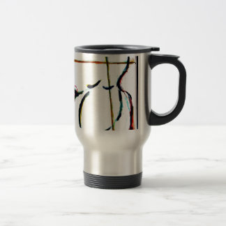The Color Keeps Bleeding in Slowly by Luminosity Travel Mug