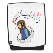 The Color of Music Backpack