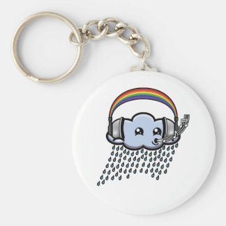 The Color of Music Keychain