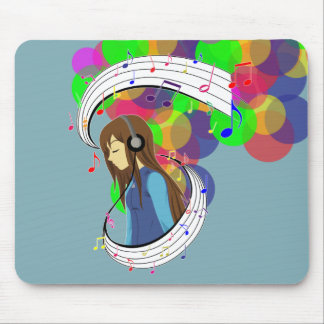 The Color of Music Mouse Pad