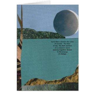 The Color of Oceans Card