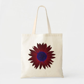 The Color of Sunflowers Tote Bag - Crimson