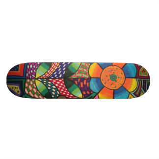 The color of the nature skateboard