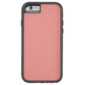 THE COLOR PINK (solid pale red color) ~ Tough Xtreme iPhone 6 Case