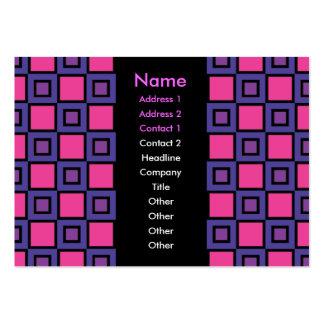 The Color Purple Business Card
