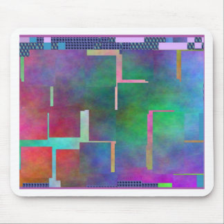 The Color Rainbow Digital Art Abstract Mousepads
