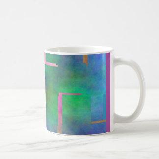 The Color Rainbow Digital Art Abstract Mugs