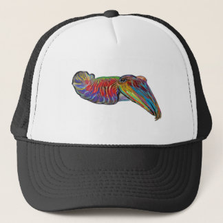 THE COLOR SIDE TRUCKER HAT