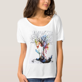 The Color Tree- beautiful watercolor painting T-Shirt