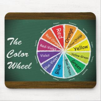 The Color Wheel Mousepad