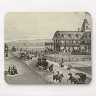 The Colorado House, Ocean Beach, NJ Mouse Pad
