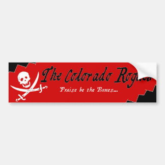 The Colorado Rogues Bumper Sticker
