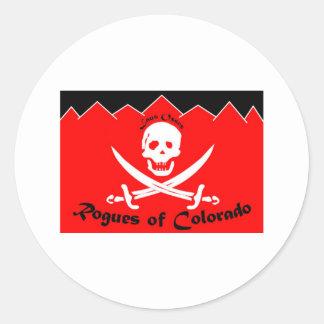 The Colorado Rogues Flag Sticker