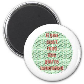 The Colorblind test Fridge Magnets