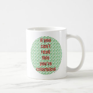 The Colorblind test Classic White Coffee Mug