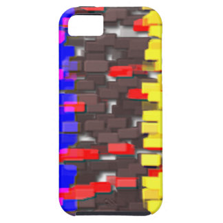 The Colored Building Blocks iPhone SE/5/5s Case