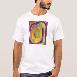 The colorful flag of life mazes T-Shirt