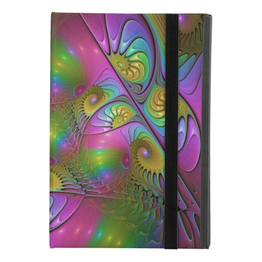 The Colorful Luminous Modern Abstract Fractal Art iPad Mini 4 Case