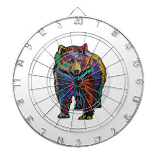 THE COLORFUL SHOW DART BOARD