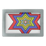 The Colorful star Belt Buckles