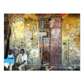 The Colorful Wall Photo Print
