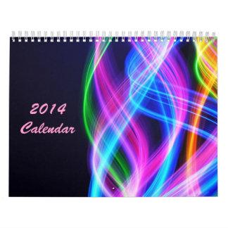 The Colorful World - 2014 Calendar