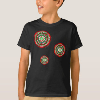 The Colors of Christmas Kid's and Baby Dark Shirt