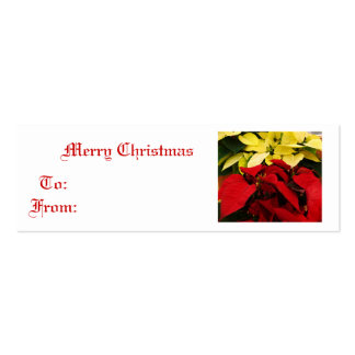 The Colors of Christmas Mini Business Card