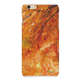 The Colors of Fall in Omaha  Original Digital Art Glossy iPhone 6 Plus Case