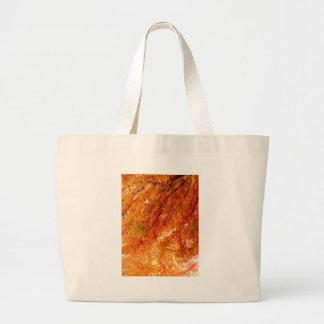 The Colors of Fall in Omaha  Original Digital Art Large Tote Bag