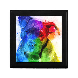 The colors of Love are a Pitbull Gift Box